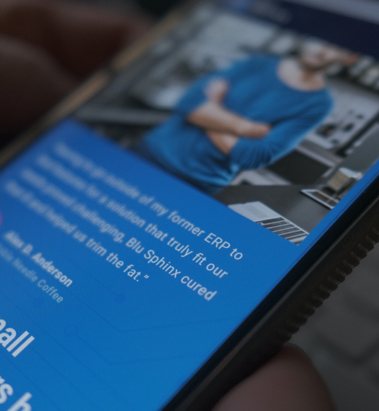 Phone with Blu Sphinx